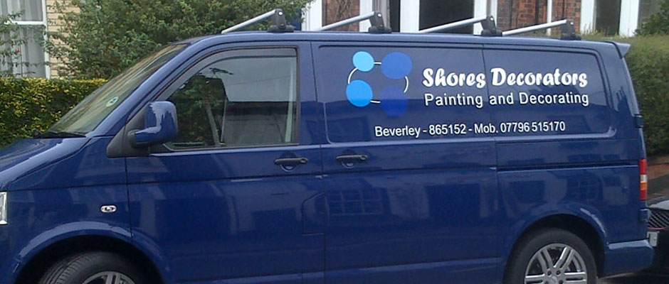 Shores Decorators Van